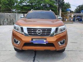 Orange Nissan Navara 2018 at 19000 for sale in Quezon City