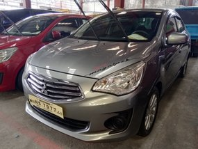 Selling Silver Mitsubishi Mirage g4 2017 Sedan in Quezon City
