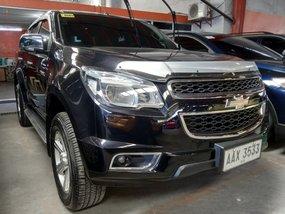 Black Chevrolet Trailblazer 2014 SUV / MPV at 74000 for sale in Quezon City