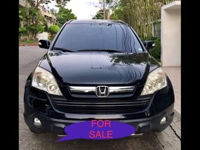 Black Honda Cr-V 2009 at 74196 for sale in Manila