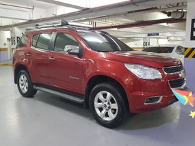 Selling Red Chevrolet Trailblazer 2013 SUV / MPV at 70000 in Quezon City