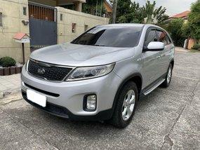 Silver Kia Sorento 2014 for sale in Quezon City