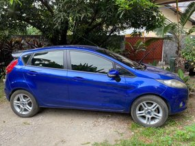 Blue Ford Fiesta 2013 for sale in Cebu City