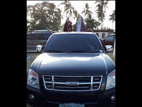 Sell Black 2008 Isuzu D-Max at 147000 in Silang