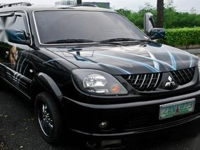 Sell Balck 2005 Mitsubishi Adventure in Manila