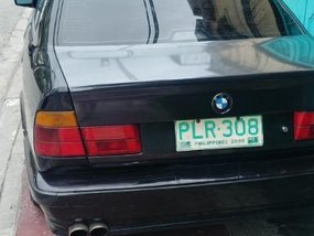Black Bmw 525I 1989 for sale in Quezon City