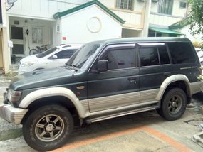 Green Mitsubishi Pajero 1994 SUV / MPV at 260000 for sale in Quezon City