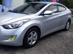 Silver Hyundai Elantra 2012 Sedan at 67500 for sale