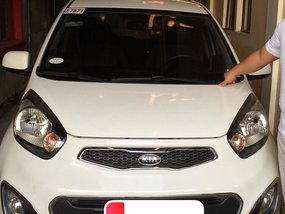 White Kia Picanto 2011 for sale in Bulacan