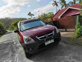 Red Honda Cr-V 2003 for sale in Sorsogon City