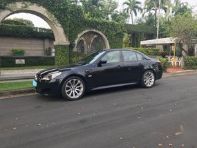 Selling Black Bmw M5 2014 in Makati