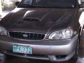 Sell Grey 2001 Kia Carnival in Rizal