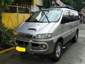 Silver Hyundai Starex 1999 for sale in Manual