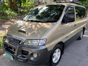 Beige Hyundai Starex 2004 for sale in Pasay