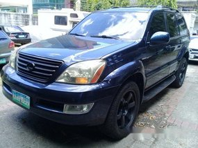 Blue Lexus Gx 2003 for sale in Quezon City
