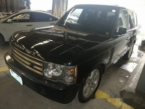 Black Land Rover Range Rover 2004 Automatic for sale