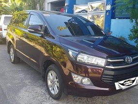 Black Toyota Innova 2017 for sale in Automatic