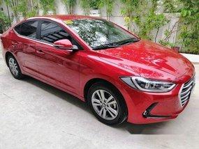 Sell Red 2018 Hyundai Elantra in Manila