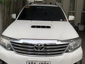 White Toyota Fortuner 2014 Automatic for sale