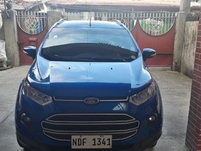 Blue Ford Ecosport 2016 for sale in Manual