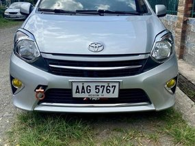 Silver Toyota Wigo 2015 for sale in Manila