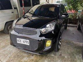 Sell Black 2016 Kia Picanto at 51000 km