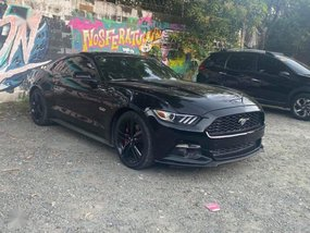 Selling Black Ford Mustang 2015 Coupe / Roadster in Pasig