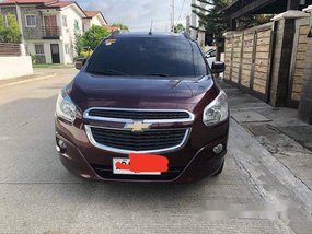 Red Chevrolet Spin 2015 for sale in Quezon City