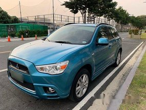 Blue Mitsubishi Asx 2012 for sale in Makati