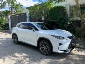2016 White Lexus RX350 FSport