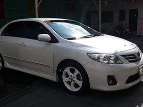 Pearl White Toyota Corolla altis 2013 for sale in General Emilio Aguinaldo