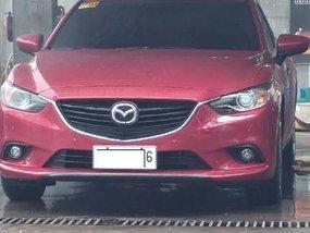 Sell Red 2014 Mazda 6 in Makati