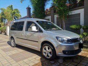 Silver Volkswagen Caddy 2017 for sale in Manila