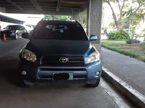 Blue Toyota Rav4 2007 for sale in Pasay
