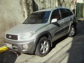 Sell Silver 2002 Toyota Rav4 in Manila