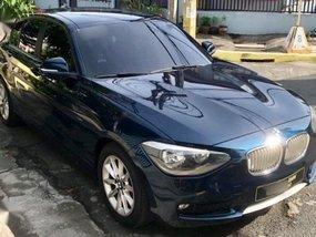Selling Black Bmw 118D 2013 in Manila