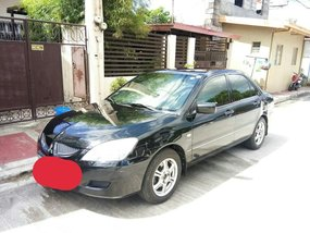 Black Mitsubishi Lancer 2004 for sale in Automatic