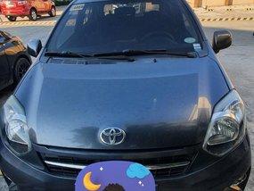 Grey Toyota Wigo 2016 for sale in Automatic