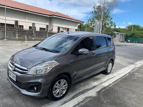 Grey Suzuki Ertiga 2018 at 21000 km for sale