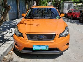 Orange Subaru XV 2.0 Premium Auto