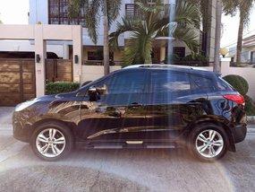 Black Hyundai Tucson 2010 for sale in Automatic