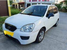 Sell White 2012 Kia Carens in Manila