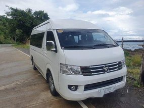 Selling White Foton View 2017 in Manila