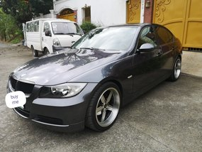 Selling Grey Bmw 3-Series 2007 Sedan in Mandaluyong