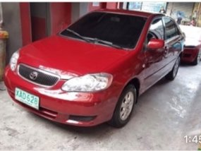 Toyota Altis E 2001 red automatic well maintained P185k