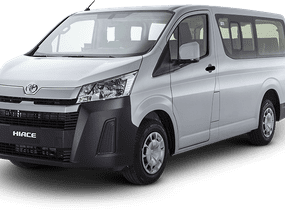 BRAND NEW 2020 TOYOTA HIACE COMMUTER DELUXE