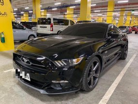 Black Ford Mustang 2015 Coupe / Roadster at Automatic  for sale in Manila