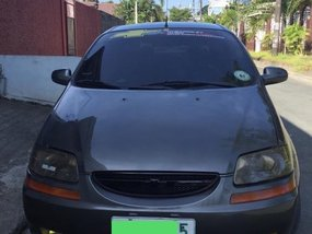 Selling Grey Chevrolet Aveo 2004 in Guiguinto
