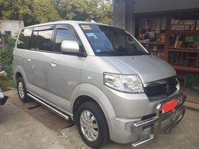 Selling Silver Suzuki Apv 2015 in Manila