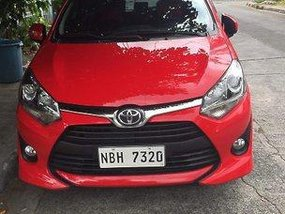 Red Toyota Wigo 2019 for sale in Automatic
